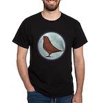 French Mondain Pigeon Dark T-Shirt
