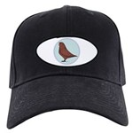 French Mondain Pigeon Black Cap