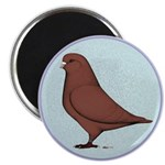 "French Mondain Pigeon 2.25"" Magnet (10 pack)"