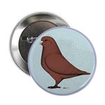"French Mondain Pigeon 2.25"" Button"