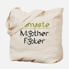 Namaste M*ther F*ker - Tote Bag from Those DeWolfe