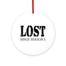 'LOST' Ornament (Round)