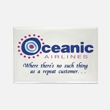 'Oceanic Airlines' Rectangle Magnet