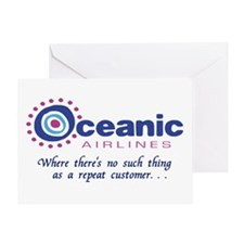 'Oceanic Airlines' Greeting Card