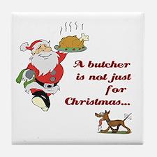 The Butcher's Tile Coaster