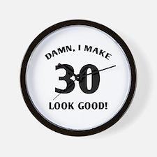 30 Yr Old Gag Gift Wall Clock