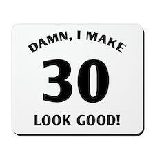 30 Yr Old Gag Gift Mousepad