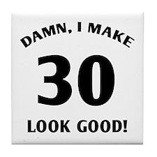 30 Yr Old Gag Gift Tile Coaster