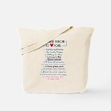 Forks Top 12 Tote Bag