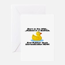 Rubber Duck Greeting Card