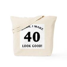 40 Yr Old Gag Gift Tote Bag