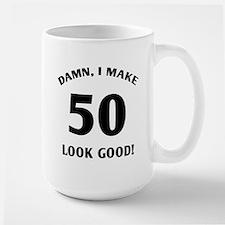 50 Yr Old Gag Gift Large Mug
