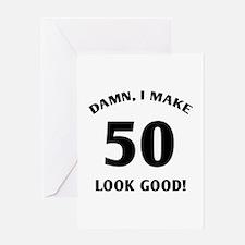 50 Yr Old Gag Gift Greeting Card