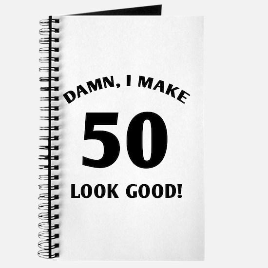 50 Yr Old Gag Gift Journal