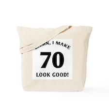 70 Yr Old Gag Gift Tote Bag