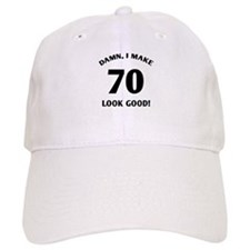 70 Yr Old Gag Gift Baseball Cap