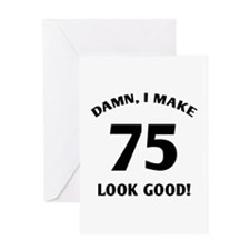 75 Yr Old Gag Gift Greeting Card