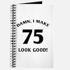 75 Yr Old Gag Gift Journal