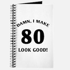 80 Yr Old Gag Gift Journal