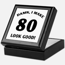 80 Yr Old Gag Gift Keepsake Box
