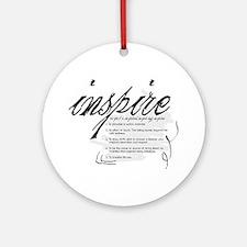Inspire Ornament (Round)