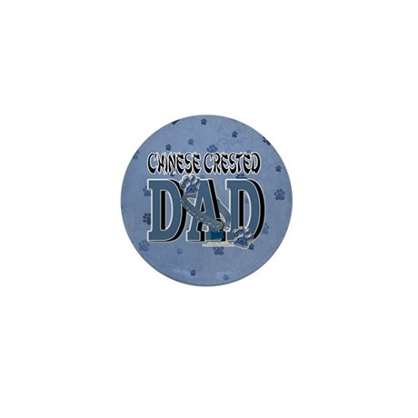Chinese Crested Dad Mini Button (10 pack)