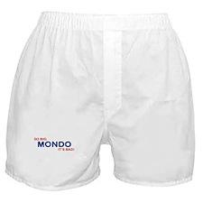 idiocracy mondo Boxer Shorts