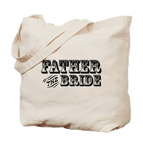 Father of the Bride - Old West Tote Bag