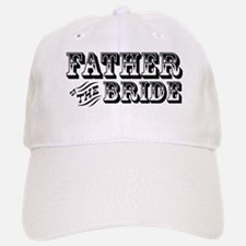 Father of the Bride - Old West Baseball Baseball Cap