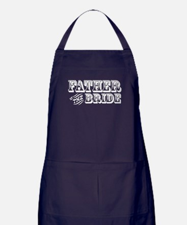 Father of the Bride - Old West Apron (dark)