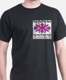 Thou Shall Not Steal Lotus Blossoms T-Shirt