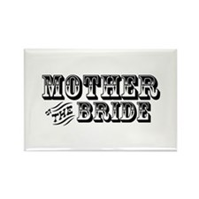 Mother of the Bride - Old West Rectangle Magnet