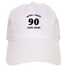 90 Yr Old Gag Gift Baseball Cap