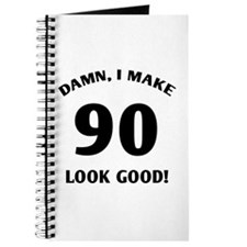 90 Yr Old Gag Gift Journal