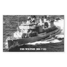 USS WILTSIE Decal