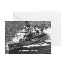 USS WILTSIE Greeting Card