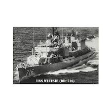 USS WILTSIE Rectangle Magnet