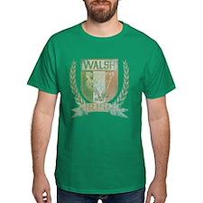 Walsh Irish Crest T-Shirt