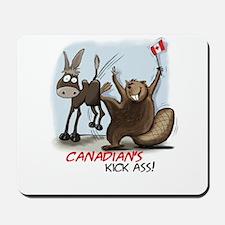 Canadians Kick Ass Mousepad
