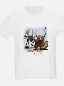 Canadians Kick Ass T-Shirt