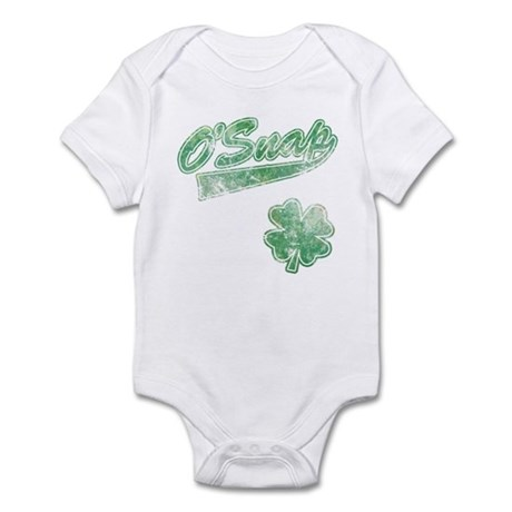 O'Snap Irish Shamrock Infant Bodysuit