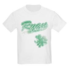 Ryan Irish Shamrock T-Shirt