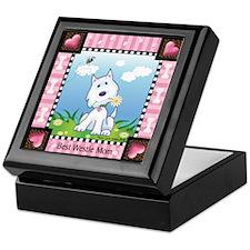 Best Westie Mom Keepsake Box