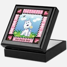 Best Westie Mom Keepsake Box