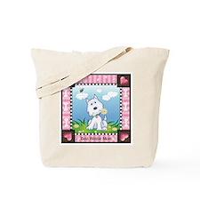 Best Westie Mom Tote Bag