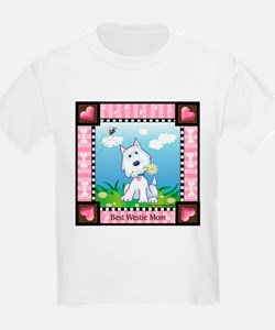 Best Westie Mom T-Shirt