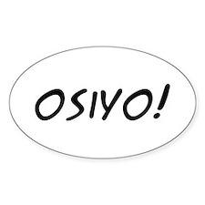Osiyo! Decal