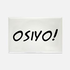 Osiyo! Rectangle Magnet