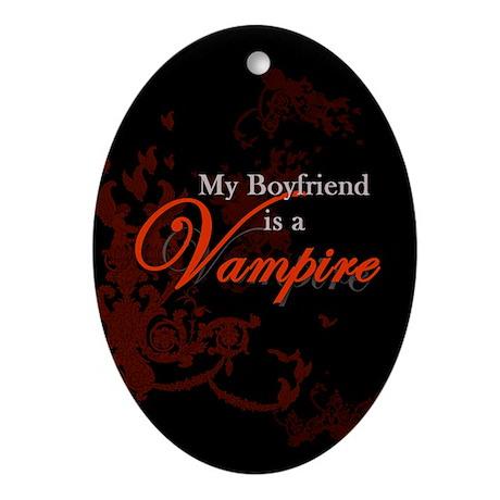 Boyfriend Vampire V2 Ornament (Oval)
