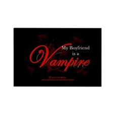 Boyfriend Vampire V2 Rectangle Magnet